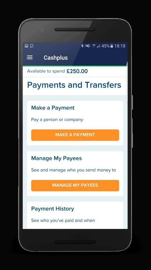 Cashplus payments