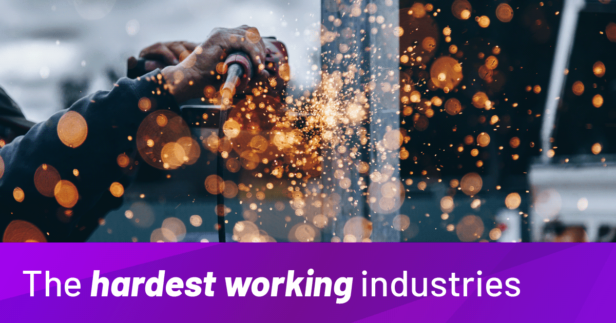 Hardest Working Industries In The UK