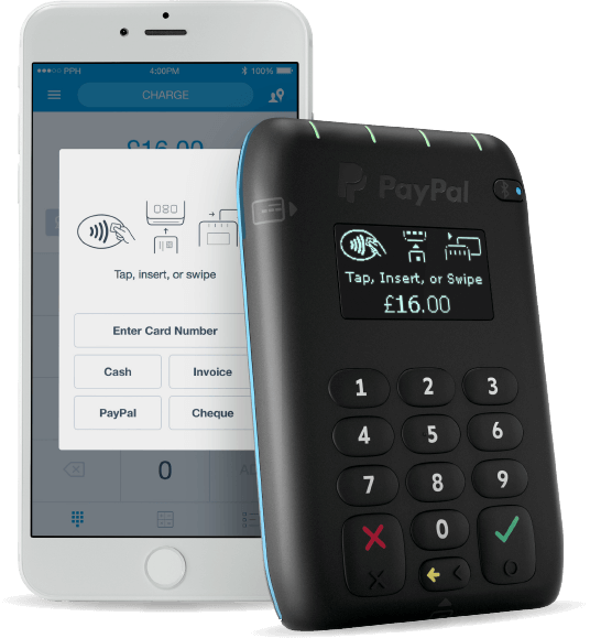 Top 5 mobile credit card machines readers for uk small business paypal here is paypals mobile credit card machine solution while not as competitively priced as the izettle card reader it does benefit from integration reheart Image collections