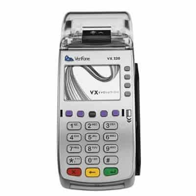 Countertop VX520 PDQ machine