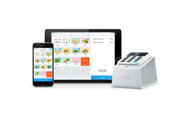 Top 5 mobile credit card machines readers for uk small business the izettle card reader requires the izettle app available for both iphone and android to function properly beyond that there are a whole host of add ons reheart Images