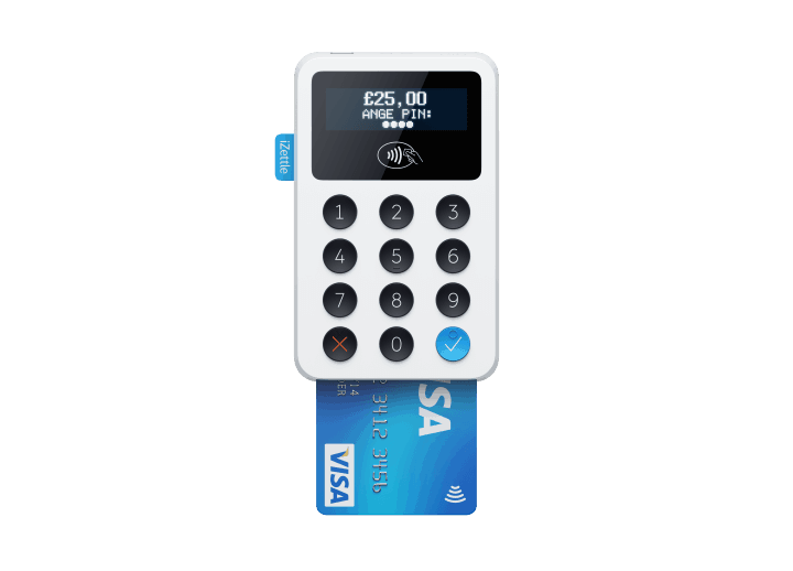 Top 5 mobile credit card machines readers for uk small business uk izettle card reader reheart Images
