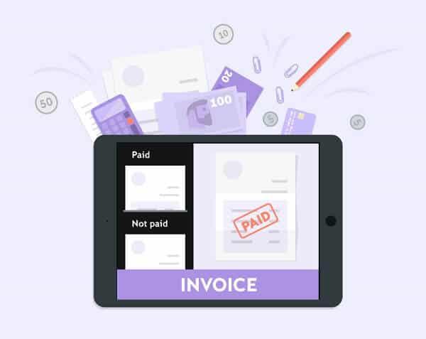 iZettle Invoice
