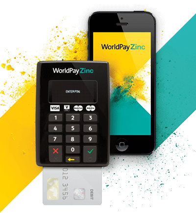WorldPay Zinc credit card machine